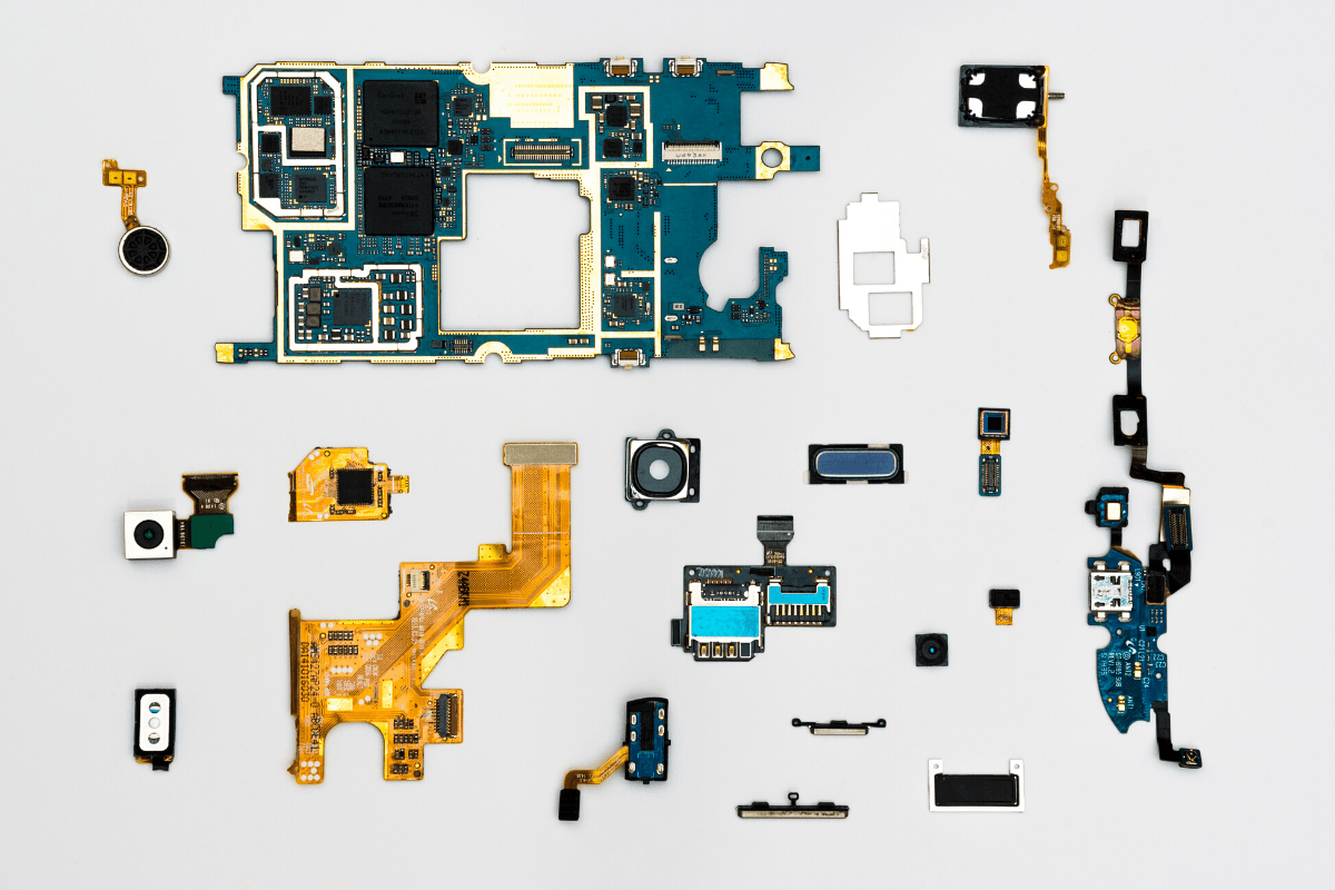 Individual pieces of tech