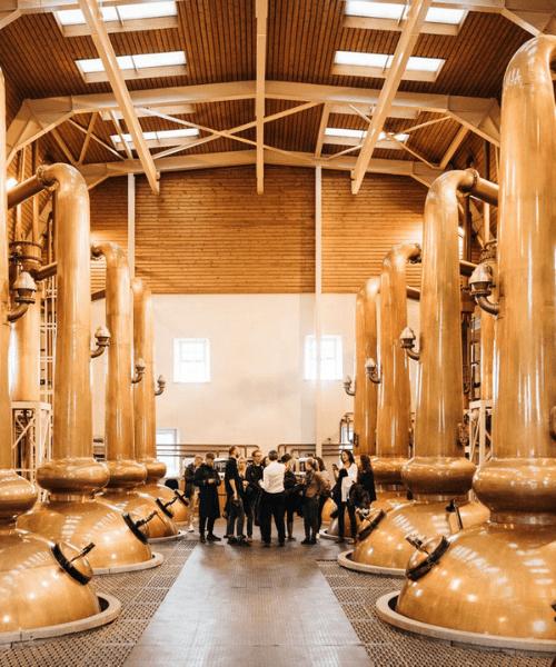 Distillery visitors centre