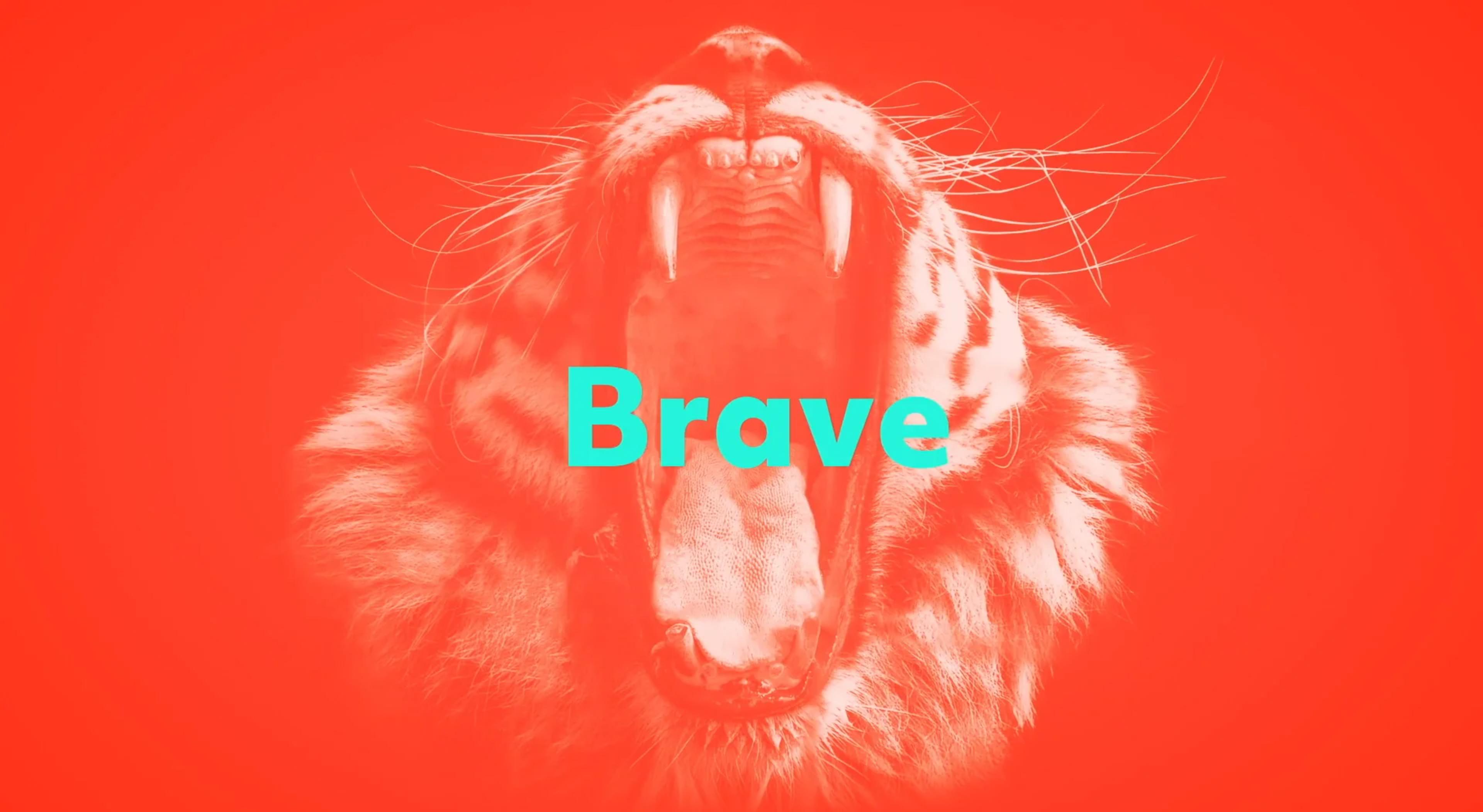 lion roaring