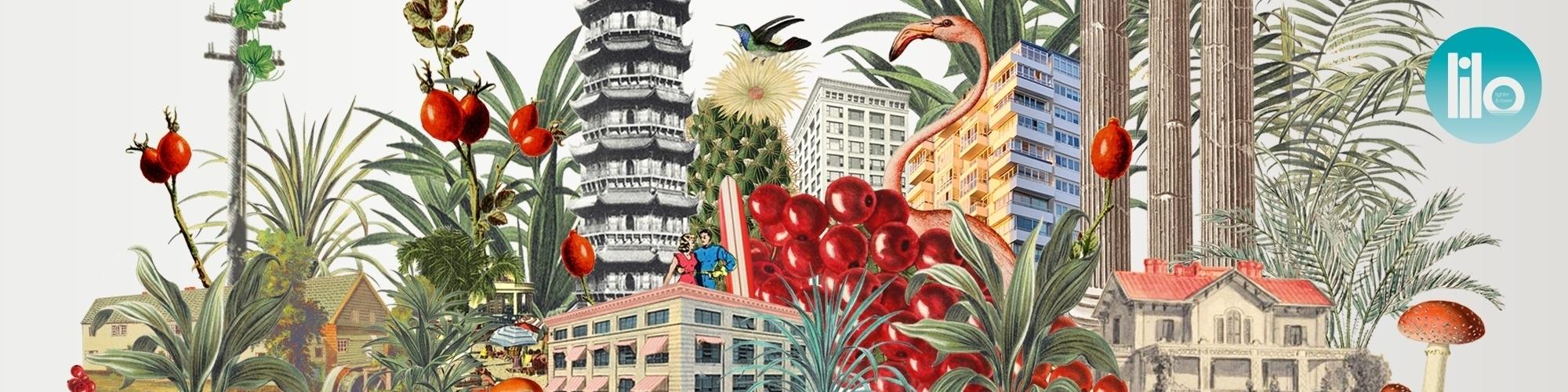 cityscape by Maria Rivans