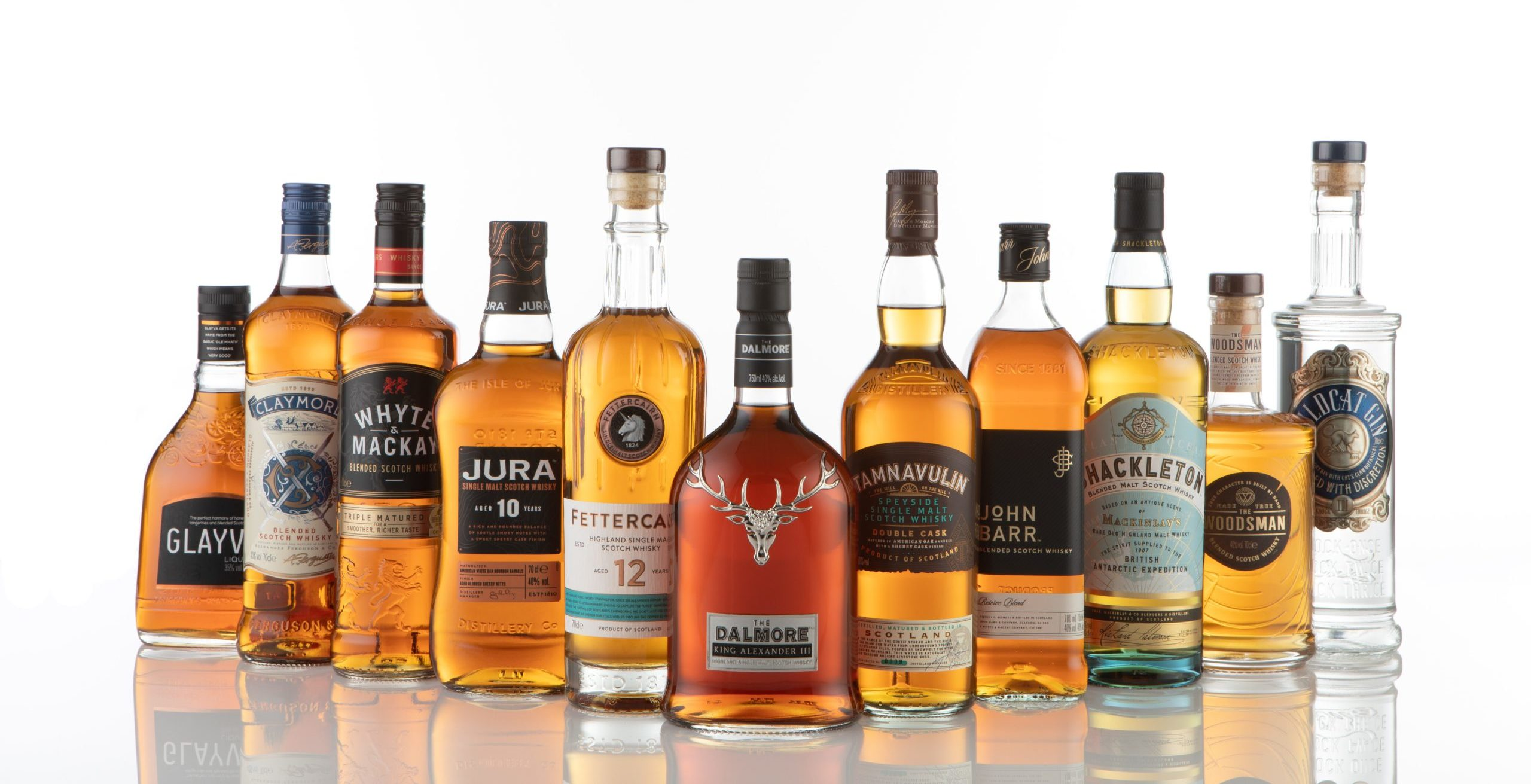 European collection of whisky