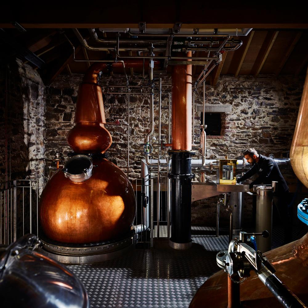 Distillery factory